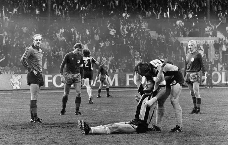 9 juni 1976 Tre mål av Kenta Ohlsson och tre till av lagkamraterna när Bajen spelade en av sina bästa matcher någonsin – enligt Lasse Sandlin.