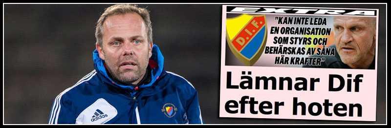 Nye Dif-tränaren Anders Johansson.