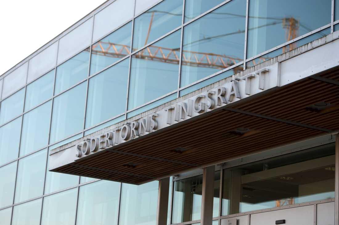 Målet ligger hos Södertörns tingsrätt men förhandlingen sker i säkerhetssalen i Stockholms tingsrätt. Arkivbild.