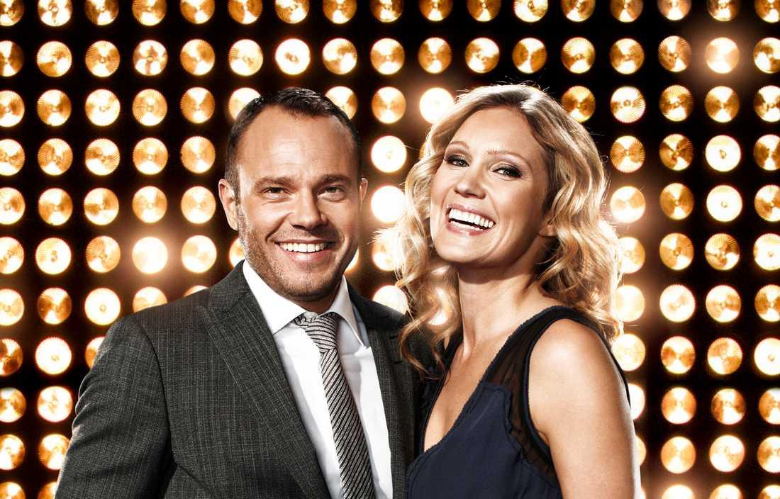 """Nu är det klart att Tilde de Paula ersätter Jessica Almenäs som programledare ihop med David Hellenius i """"Let's dance""""."""