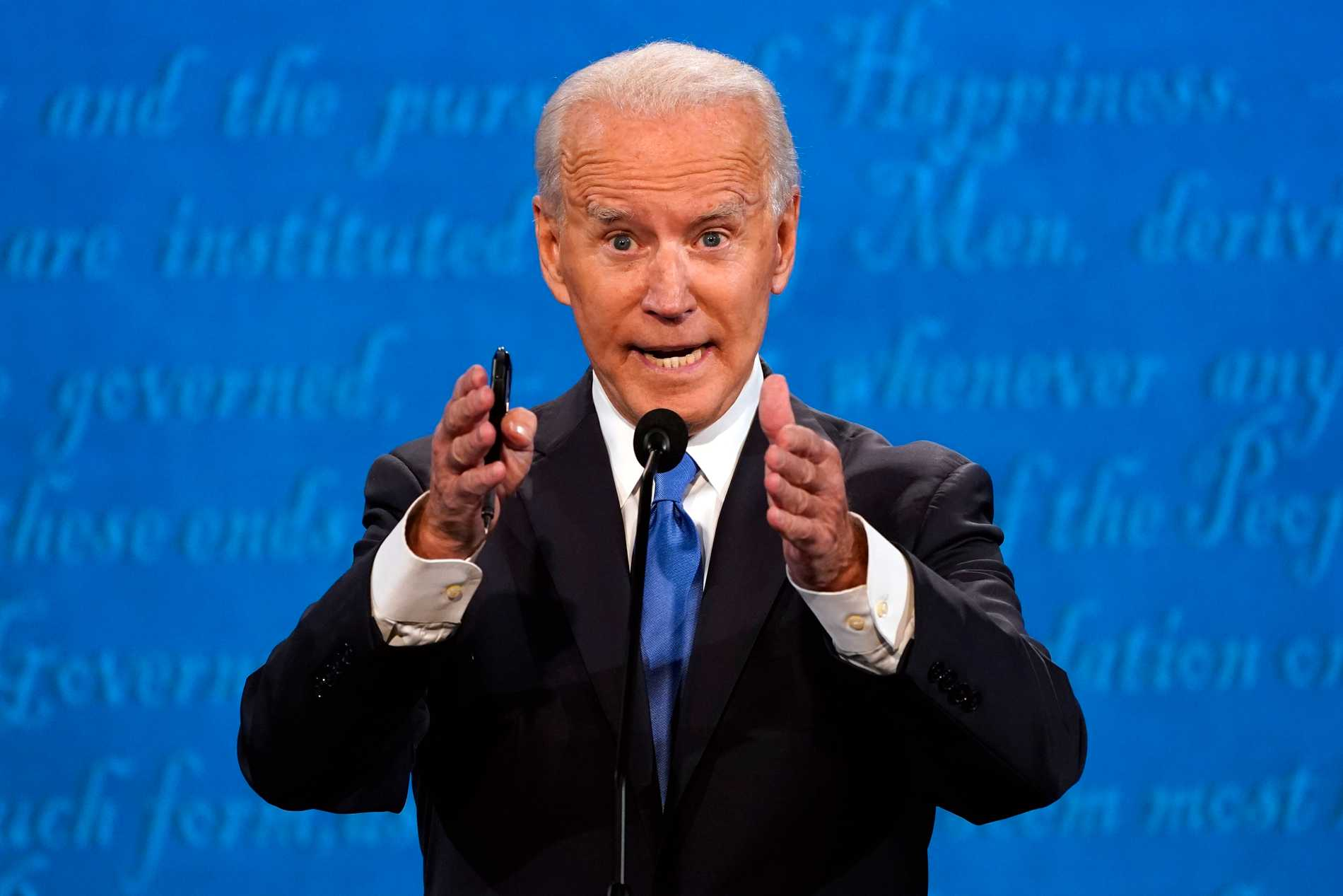 Joe Biden undrade över Donald Trumps bankkonto i Kina.