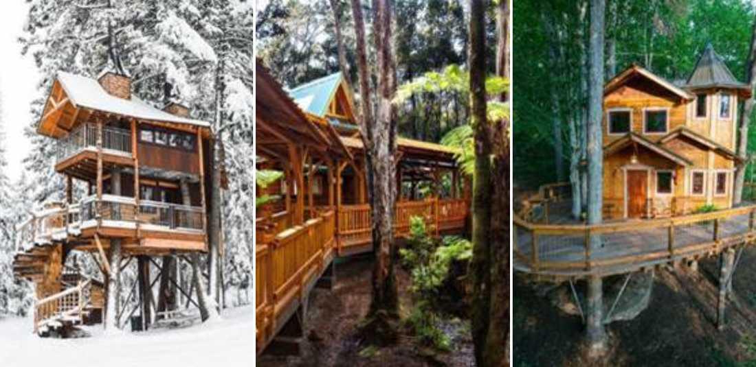 Det finns en del härliga trähus runt om i världen.