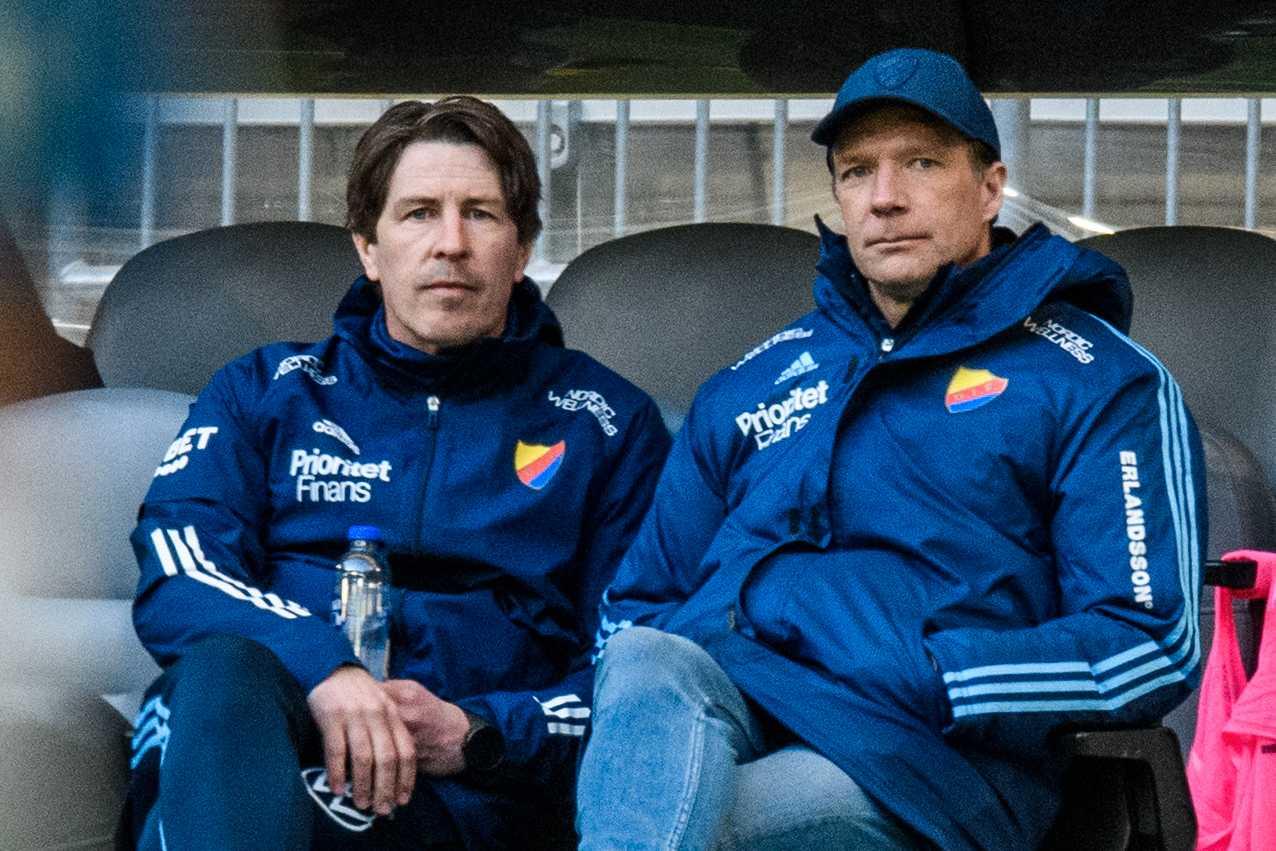 Thomas Lagerlöf och Kim Bergstrand.