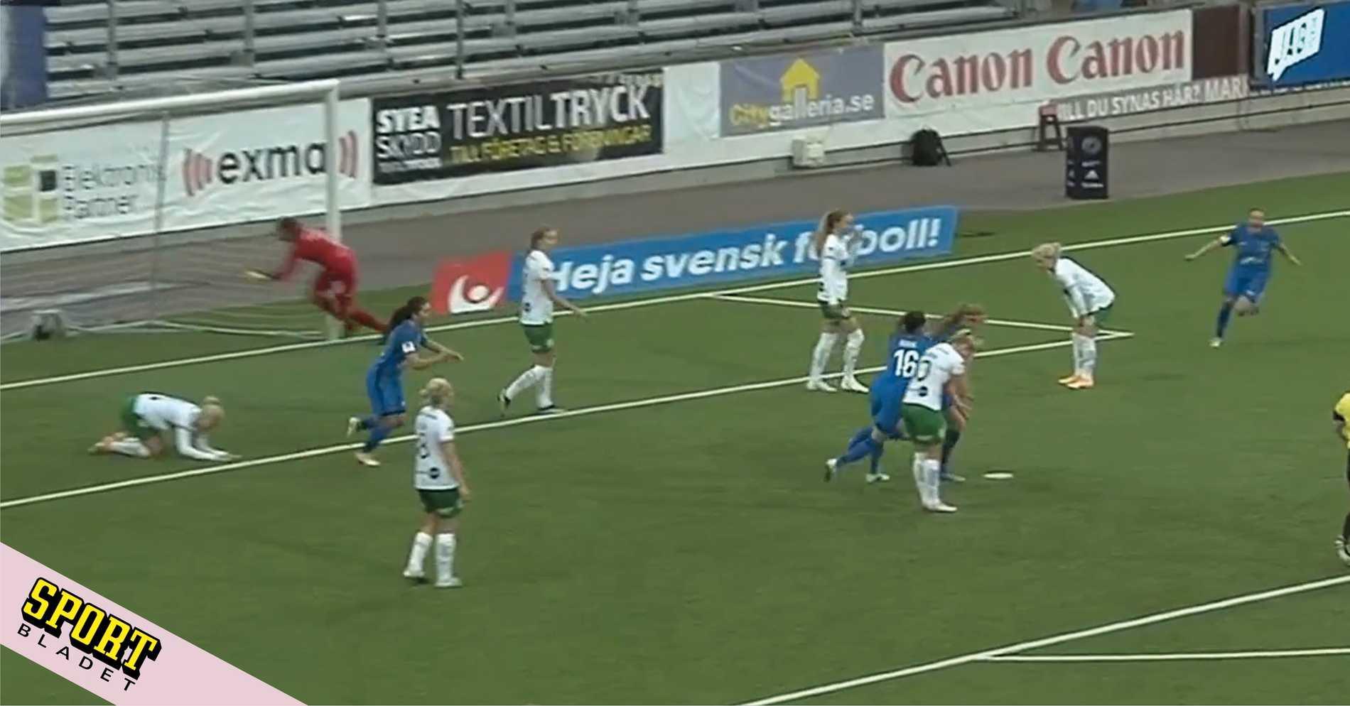 Hammarby tappade segern i slutminuterna – igen