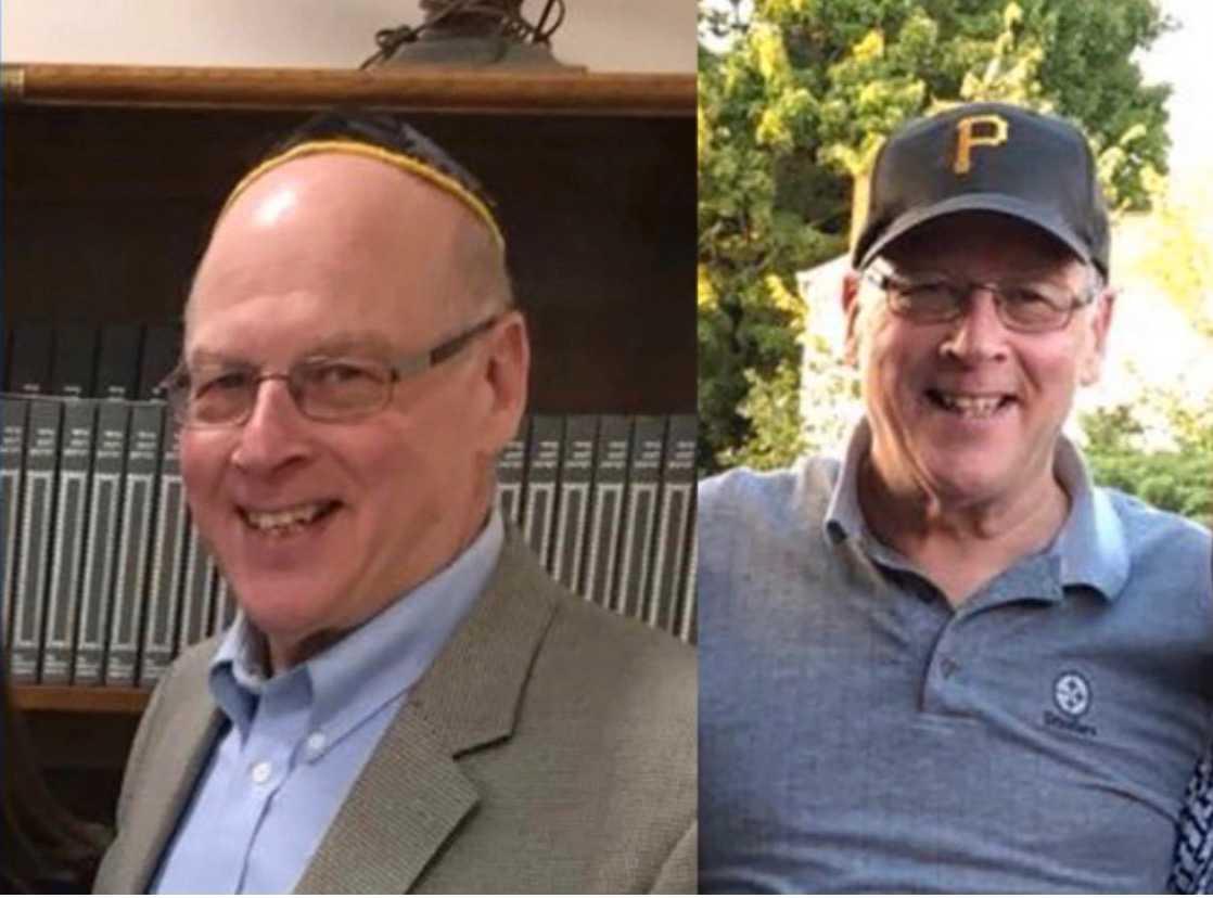 Bilder på Daniel Stein, ett offer för skjutningen i synagogan i Pittsburgh, USA.