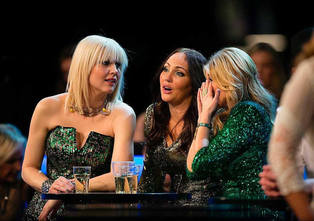 Räckte inte Jenny SIlver, Hanna Hedlund och Pernilla Wahlgren i Swedish House Wives fick nöja sig med en sjätteplats.