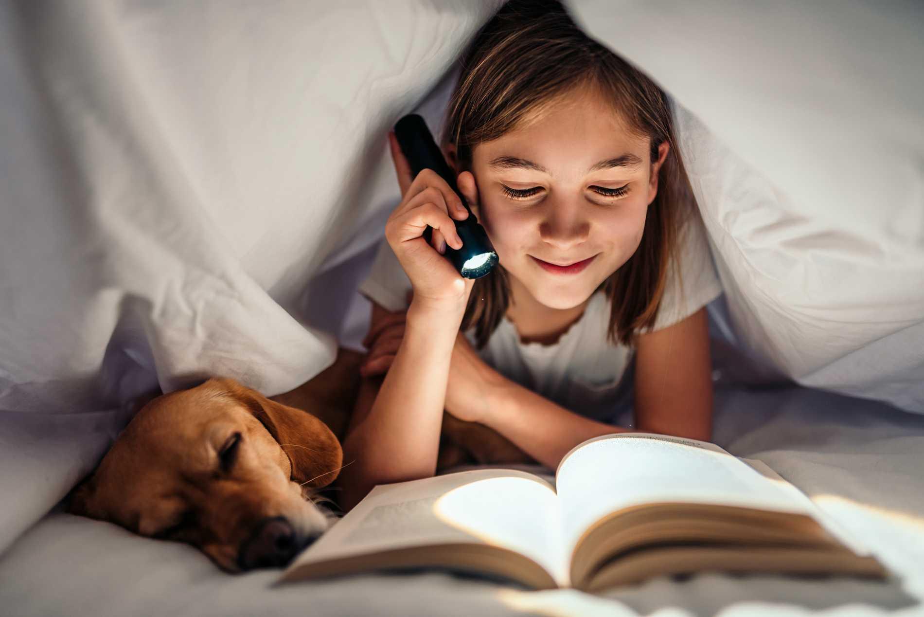 Om barnet kan läsa själv är det läge att plocka fram dina gamla favoriterböcker, kanske?