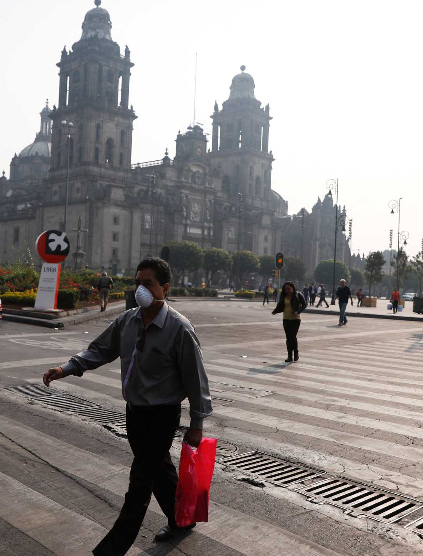 Myndigheterna i Mexico city har utlyst miljönödläge.