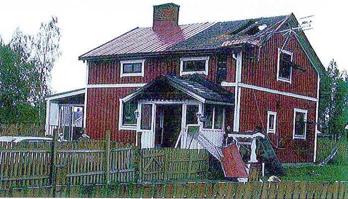 Kari Hekkala försökte förstöra bevis genom att tända eld på huset.