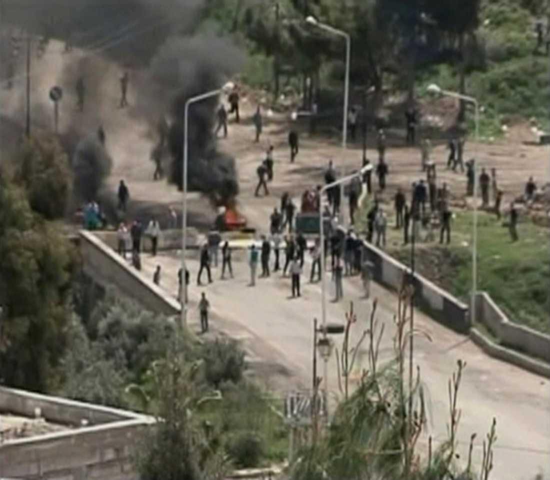 2011 Daraa. I mars 2011 började protsterna.