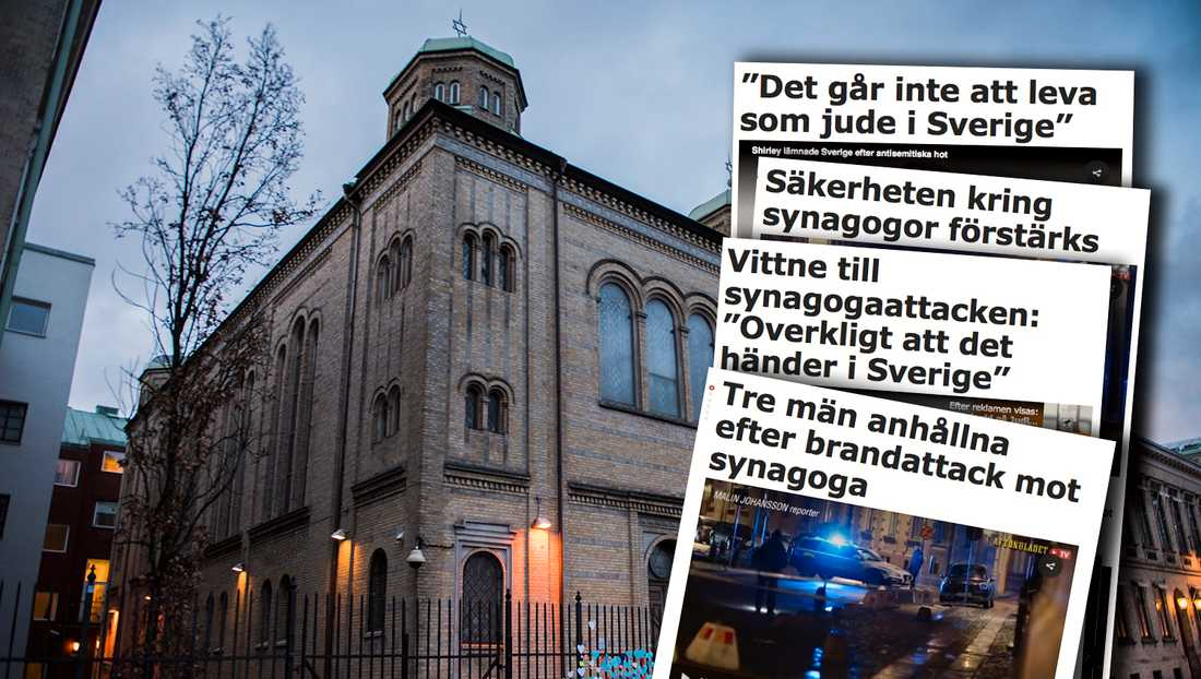Synagogan i Göteborg.