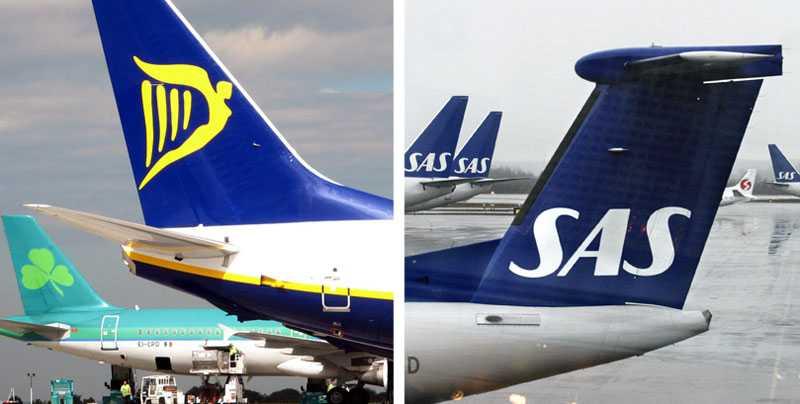 Vilket bolag är punktligast och bäst på kundservce? Vi, sa Ryanair tidigare i veckan. Det fick SAS att ilskna till och gå till motattack.