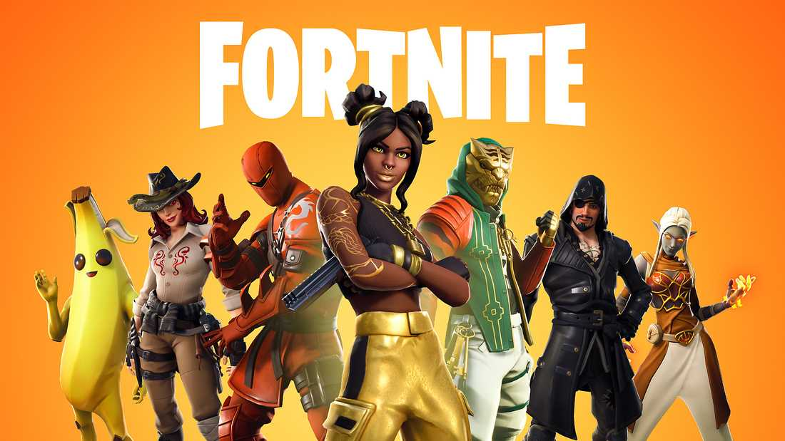 Spelet Fortnite