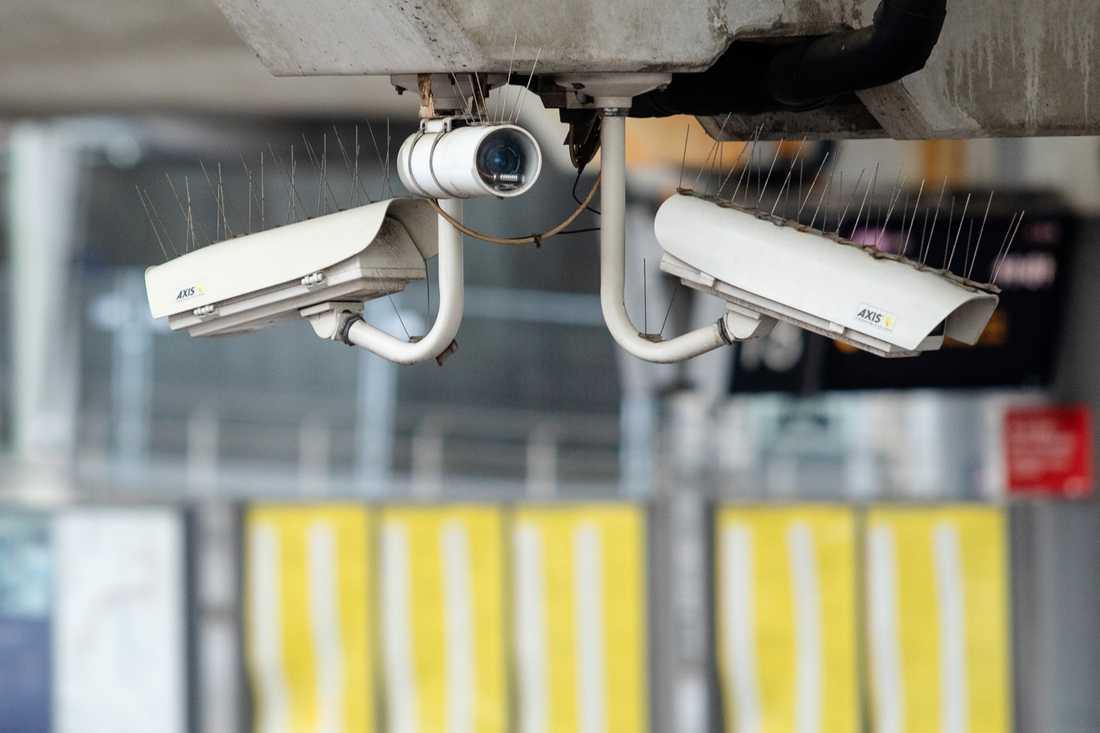 Tullen stärker sina kontroller med nya kameror. Arkivbild.