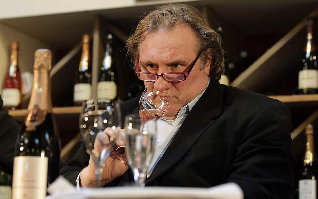 Ny roll för Gérard Depardieu.