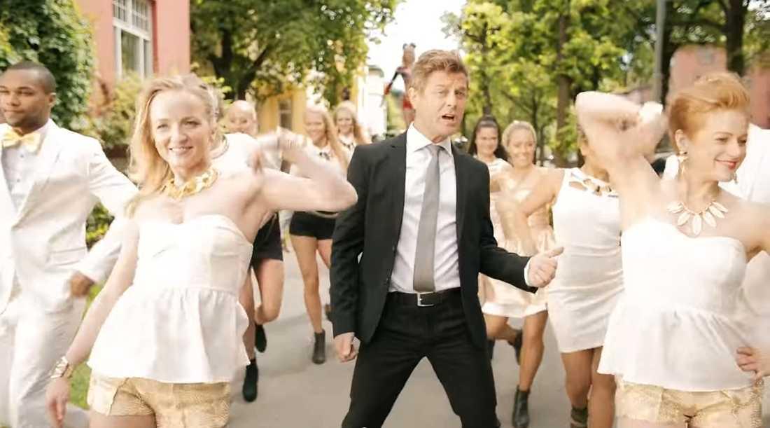 Niclas Wahlgrens reklamfilm för Vitaproe.
