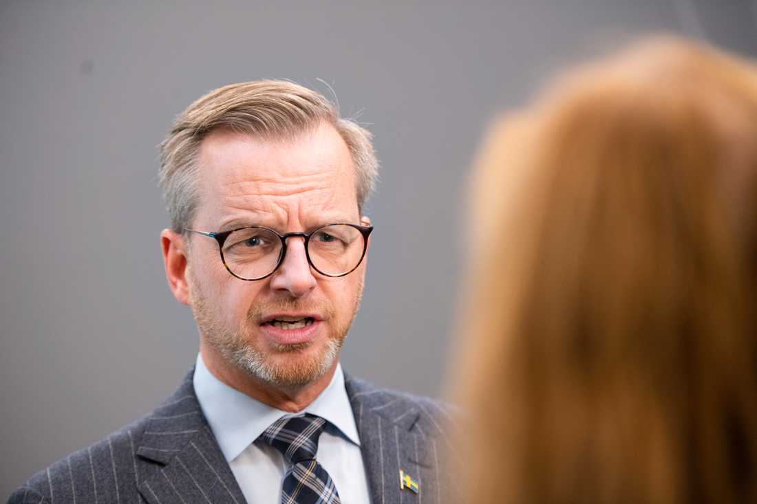 STOCKHOLM 2020-11-02 Inrikesminister Mikael Damberg (S). Arkivbild