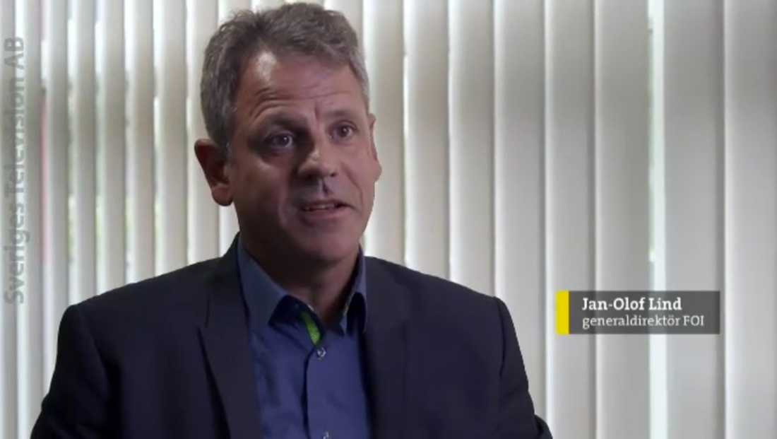 Jan-Olof Lind, generaldirektör FOI