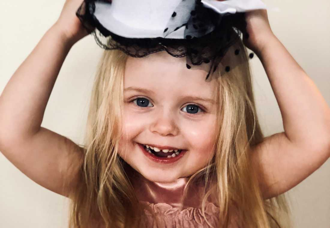 """Esmeralda, även kallad """"Lilla hjärtat"""", blev bara 3 år."""