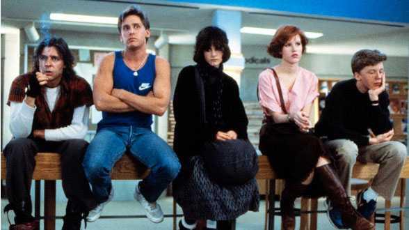 """""""Breakfast club"""" hade premiär 1985."""