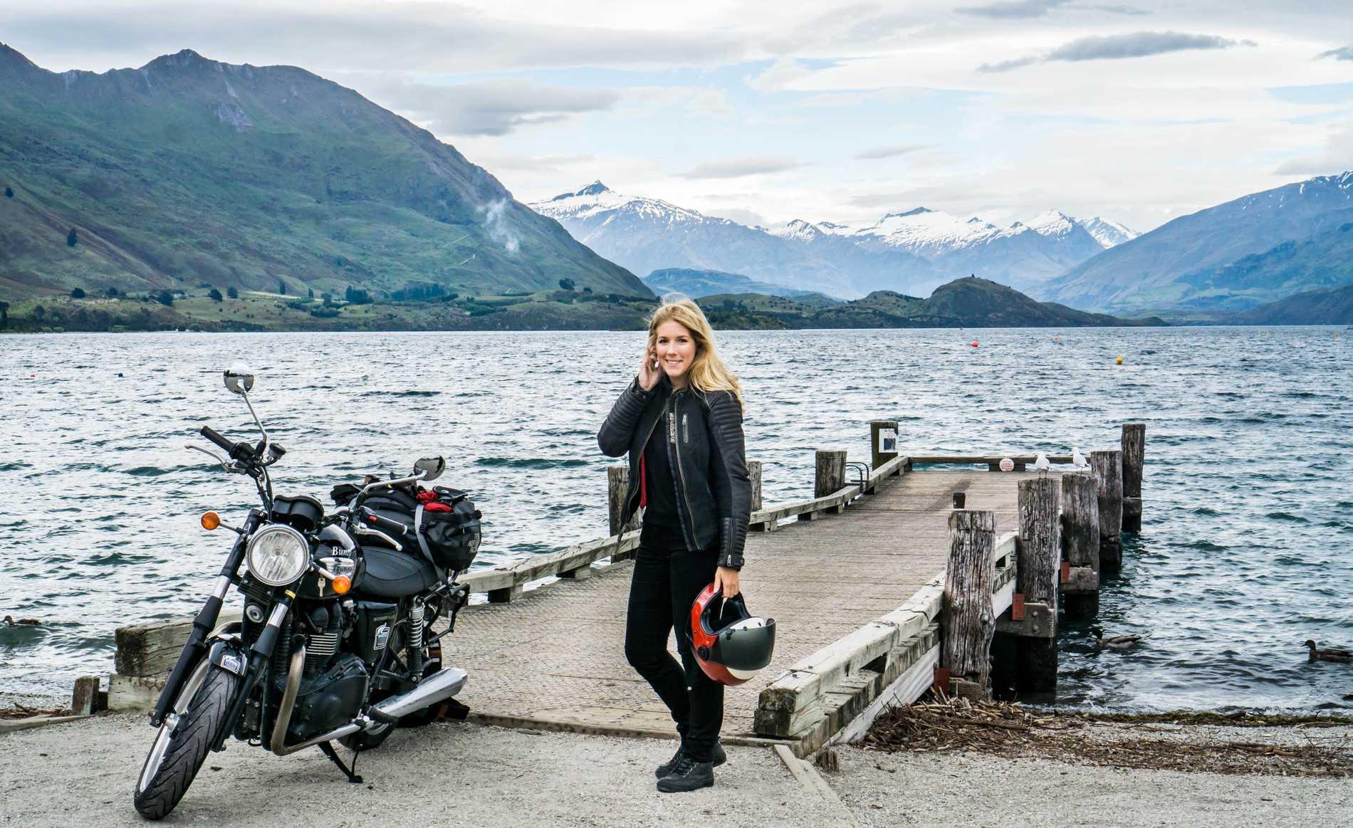 Nya Zeeland var en av få platser där Hanna Johansson hade en tidsbegränsad resa.