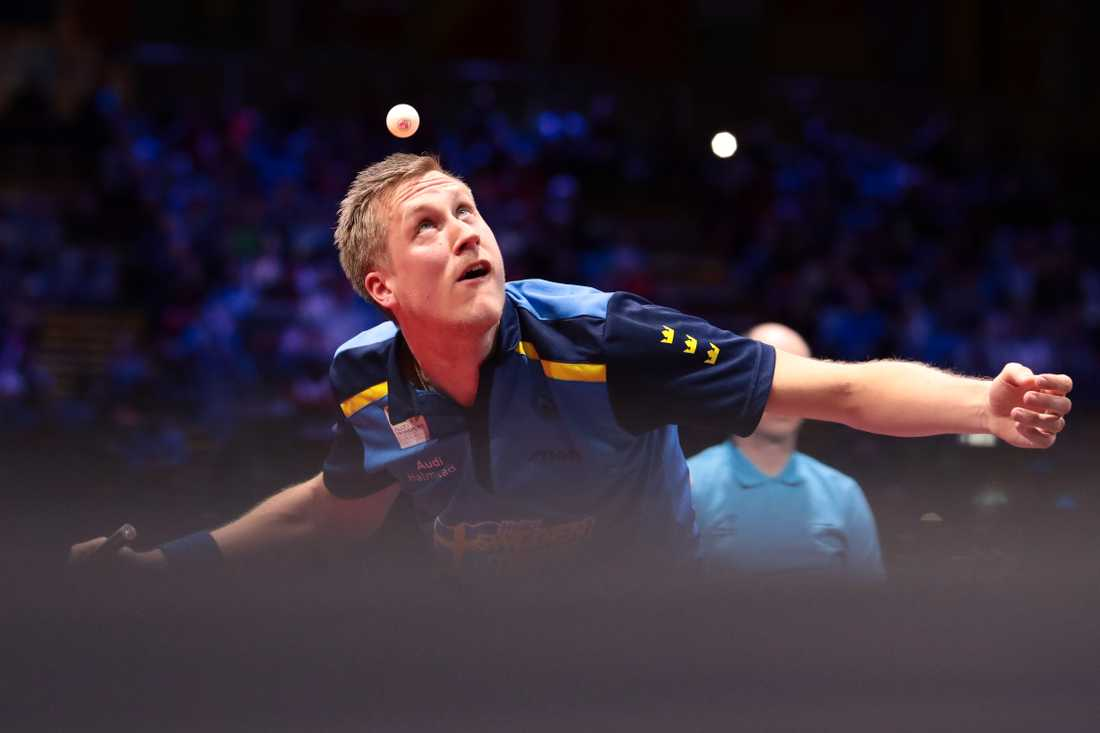 Mattias Falck tog Sveriges första medalj på 20 år