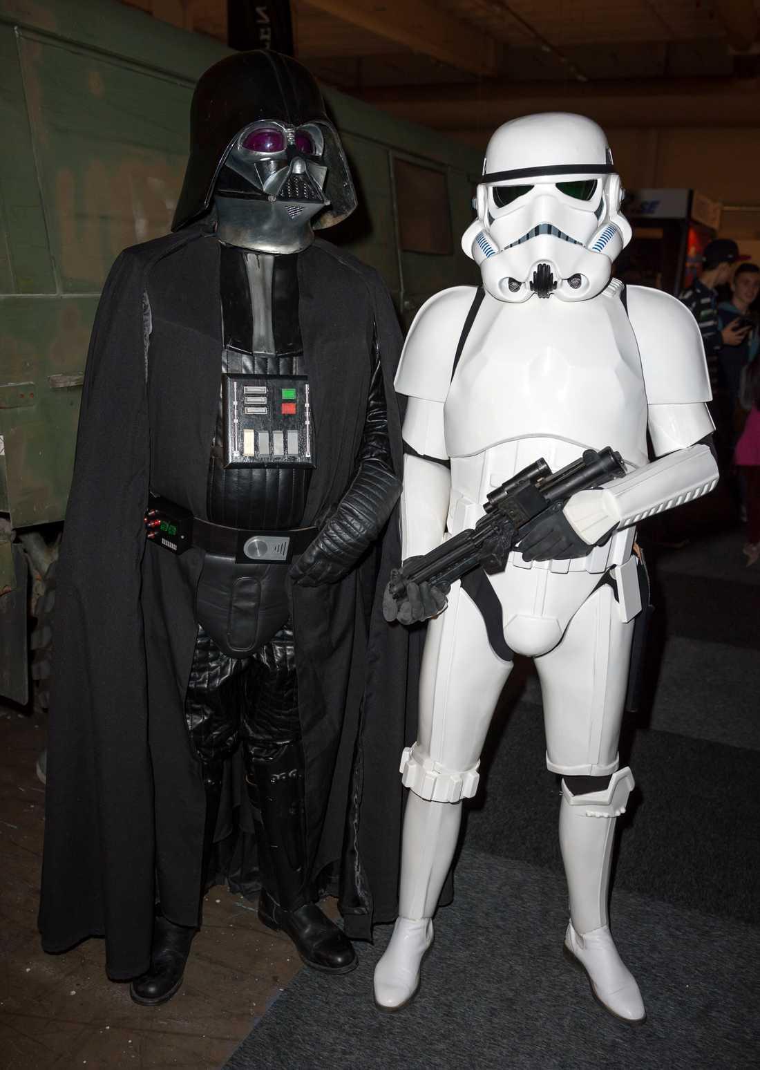 Minst en Darth Vader och ett helt gäng stormtroopers lär komma