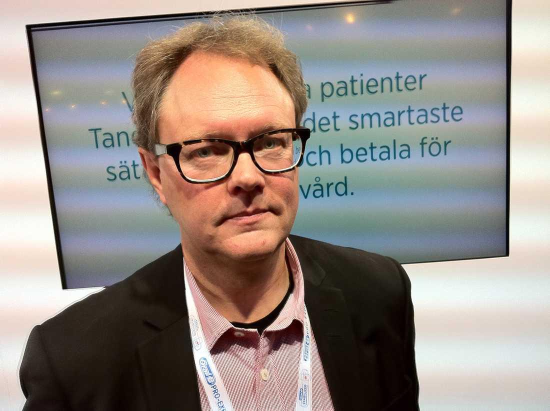Anders Jonsson, styrelseordförande för Praktikertjänst.