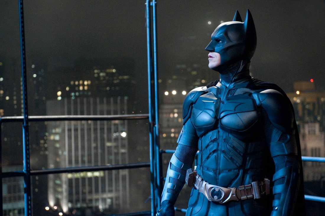 "Christian Bale som Batman i ""The dark knight rises""."