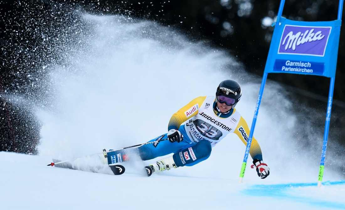 Matts Olsson – ett av de svenska hoppen i alpina VM 2017