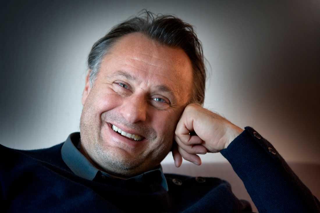 Michael Nyqvist fotograferad för Aftonbladet i Augusti 2007.