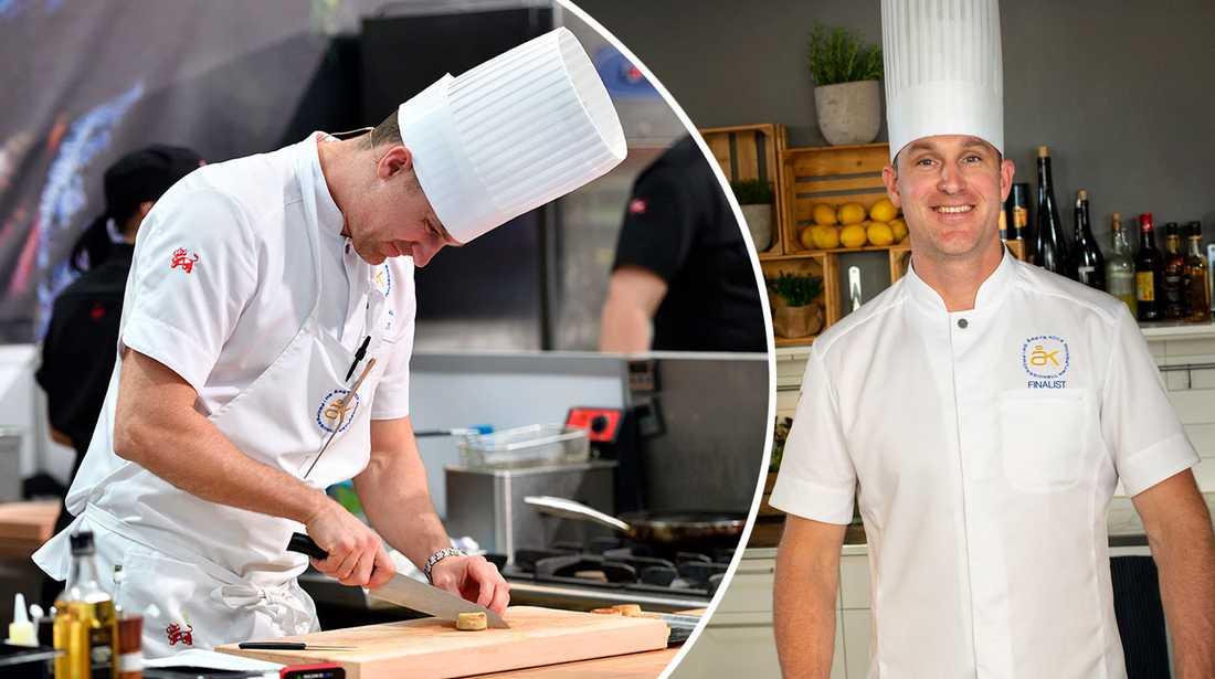 En poäng skilde Martin Moses från vinnaren i Årets kock förra året – nu siktar han på revansch.