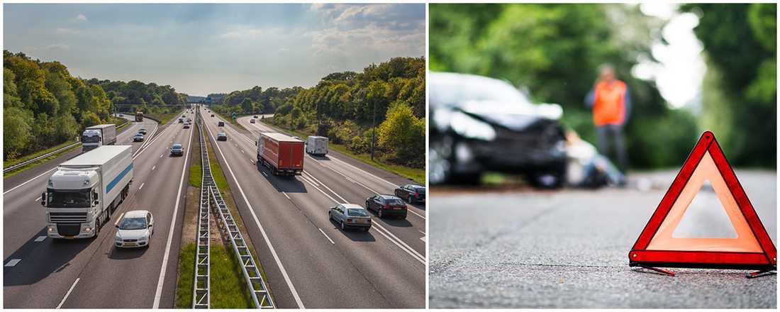 De stora motorvägarna i Tyskland är hårt olycksdrabbade.