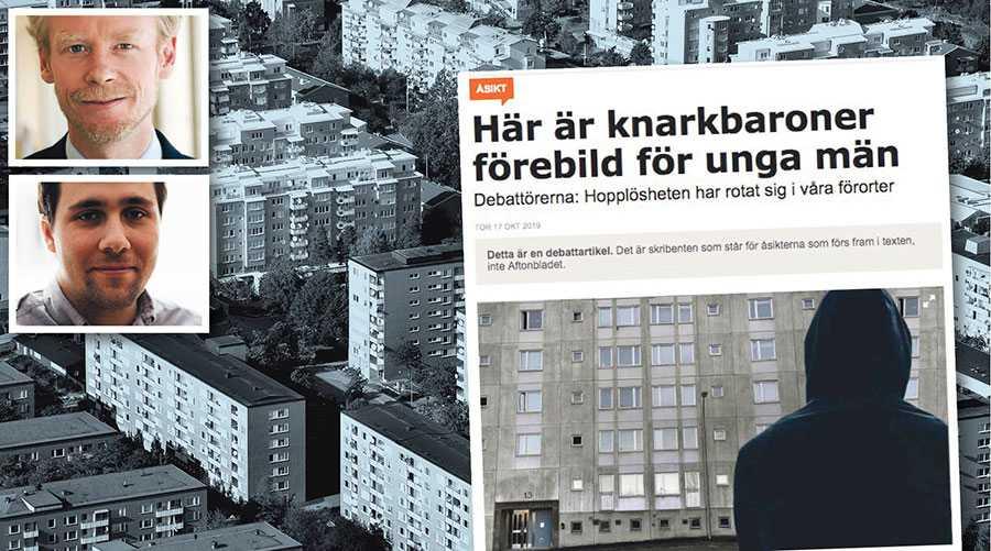 De boende i förorten är starka och självständiga individer. De ska inte ses som offer för en utveckling som de inte kan vända, skriver Ole-Jörgen Persson och Benjamin Dousa.