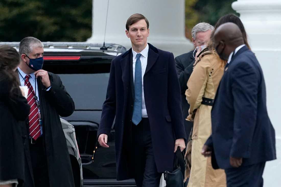 Jared Kushner, Mellanösternrådgivare och svärson till USA:s president Donald Trump. Arkivbild.