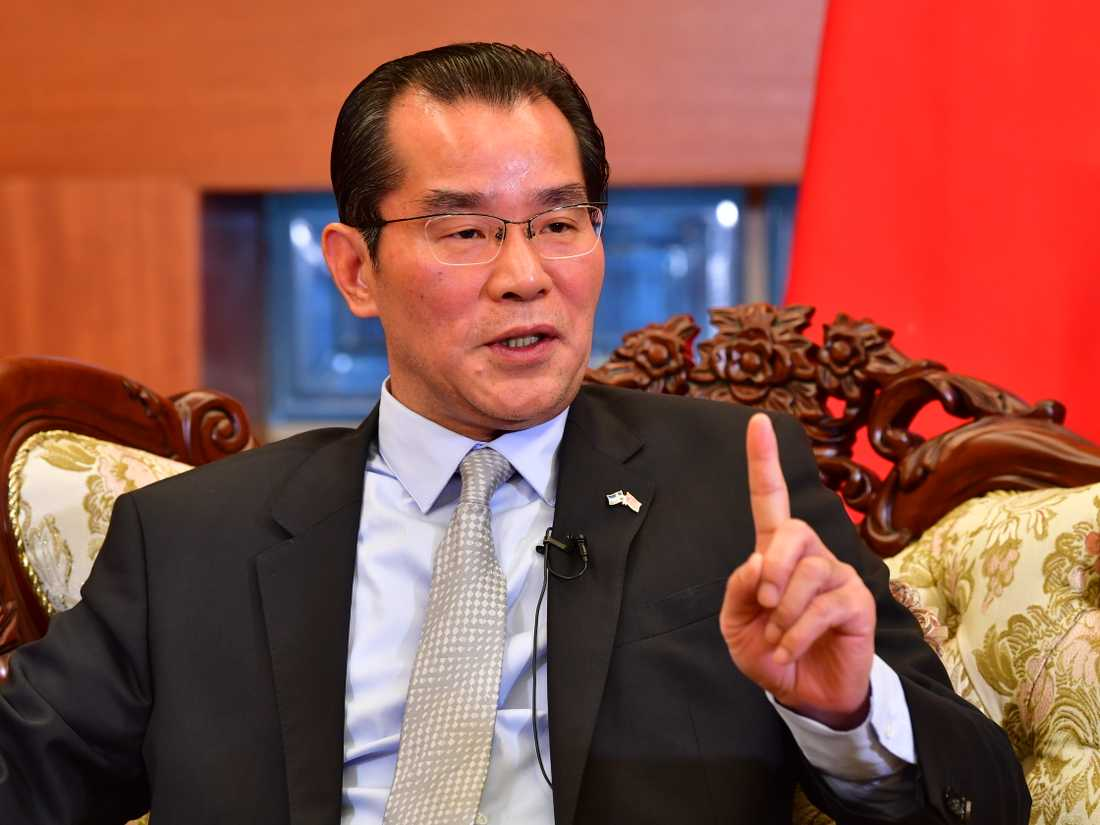 Kinas ambassadör Gui Congyou hotar med konsekvenser för Sverige.