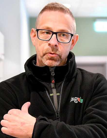 """Patrik Thorin, klubbordförande: """"92 procent av de fast anställda är med i facket""""."""