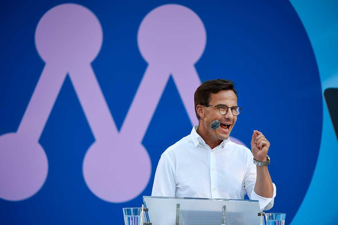 Ulf Kristersson och Moderaterna anses vara dubbelt så bra som Socialdemokraterna när det gäller hur bra de är på de viktigaste politiska frågorna.