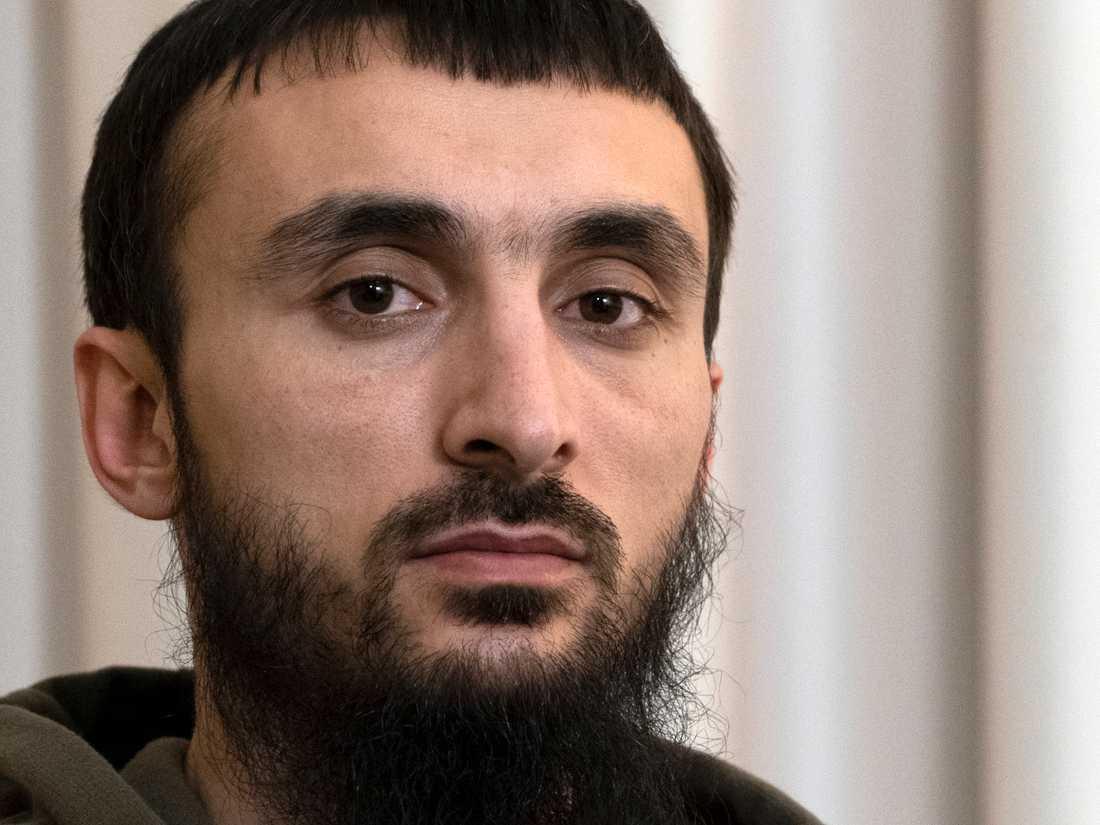 Den tjetjenske regimkritikern Tumso Abdurachmanov. Arkivbild.