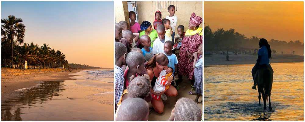 Marlene Rindå Jikita kombinerar solsemester i Gambia med att hjälpa utsatta familjer.