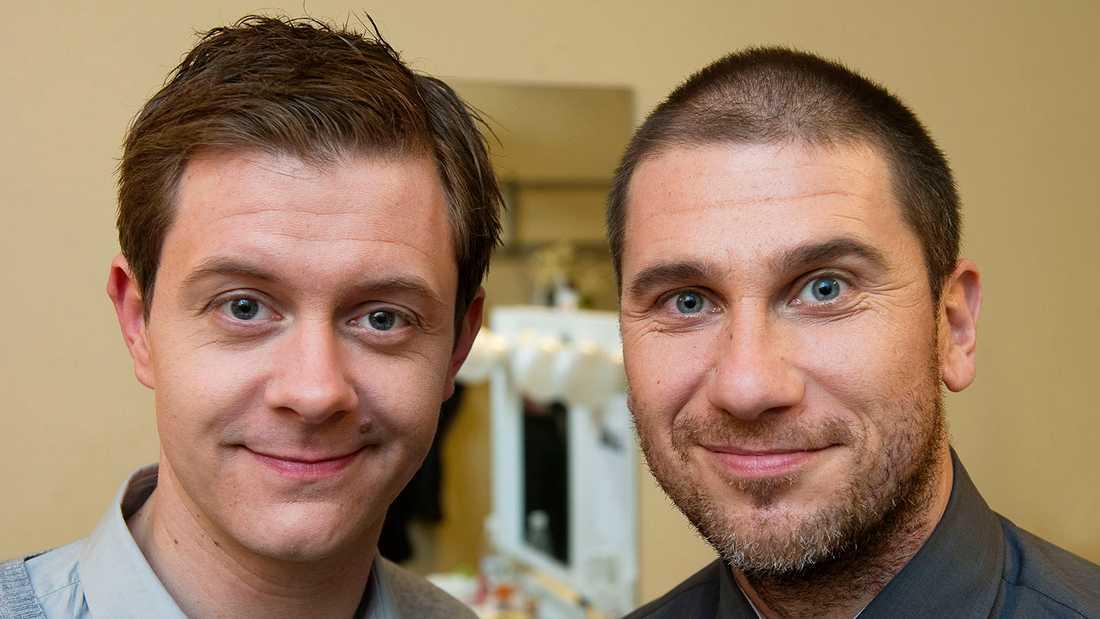 Tobbe Trollkarl och Markoolio.