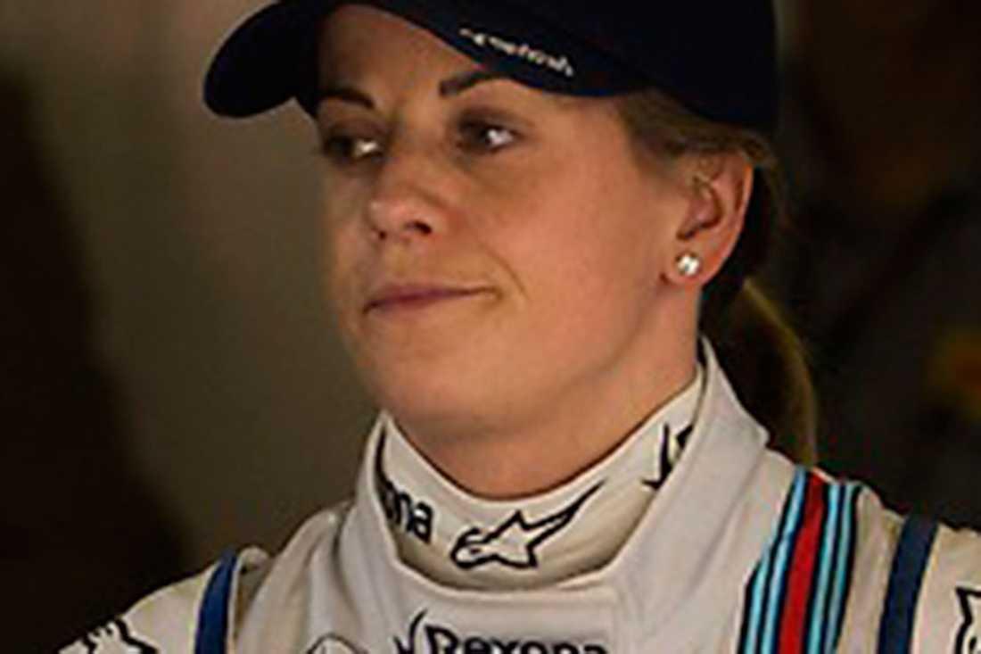Susie Wolff var testförare för Williams 2015.