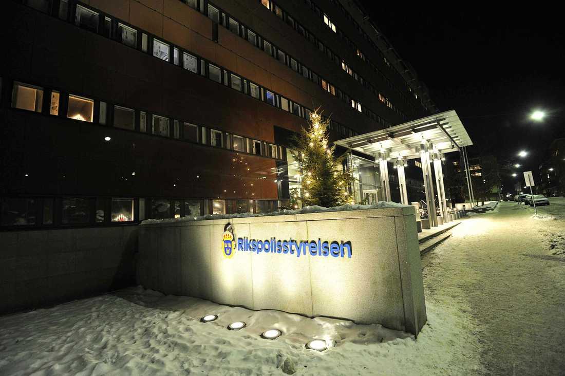 Polishuset på Kungsholmen i Stockholm.