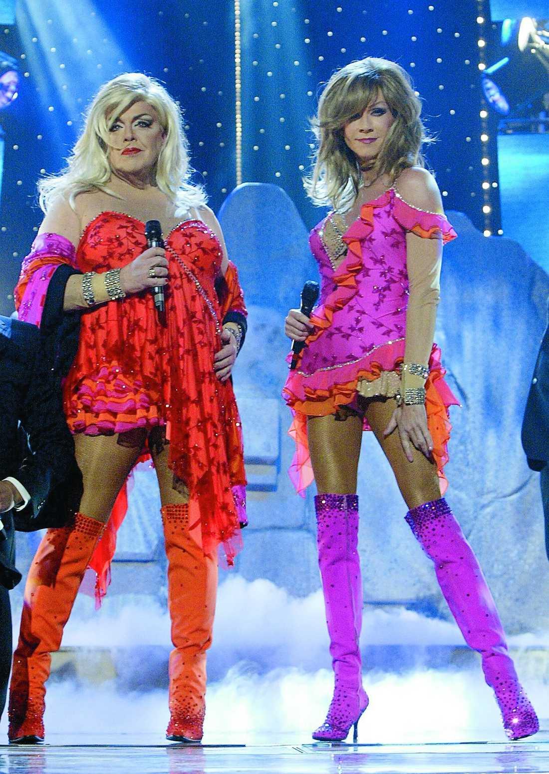 """After Dark i MelodifestIvalen  2004 ställde Christer Lindarw och Lasse Flinckman i After Dark upp i Melodifestivalen med bidraget """"La dolce vita""""."""