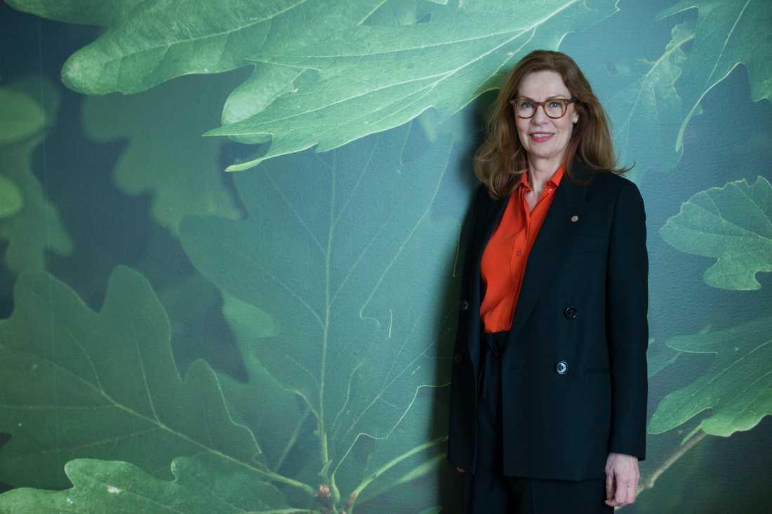 – Vi har koll, säger Swedbanks vd Birgitte Bonnesen. Arkivbild.