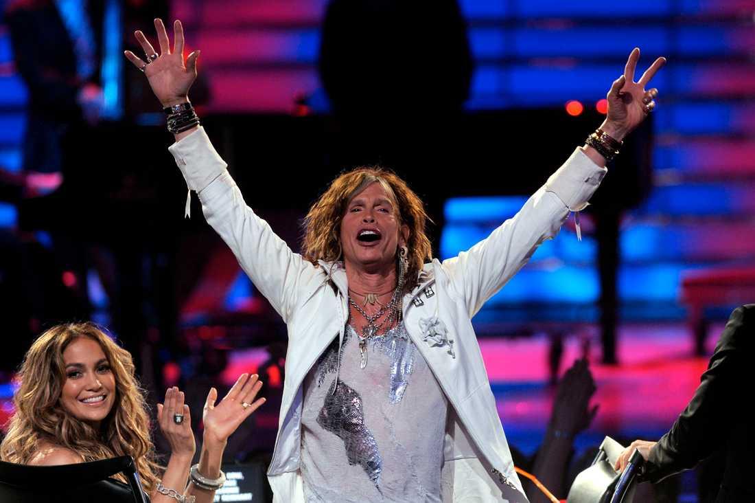17 Steven Tyler, Aerosmith.