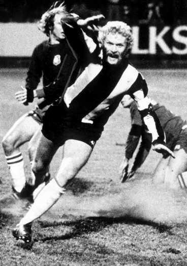 MÅLSKYTT AV RANG Tom Turesson värvades till Hammarby som 18-åring. Under 15 säsonger gjorde han totalt 91 mål för Bajen.