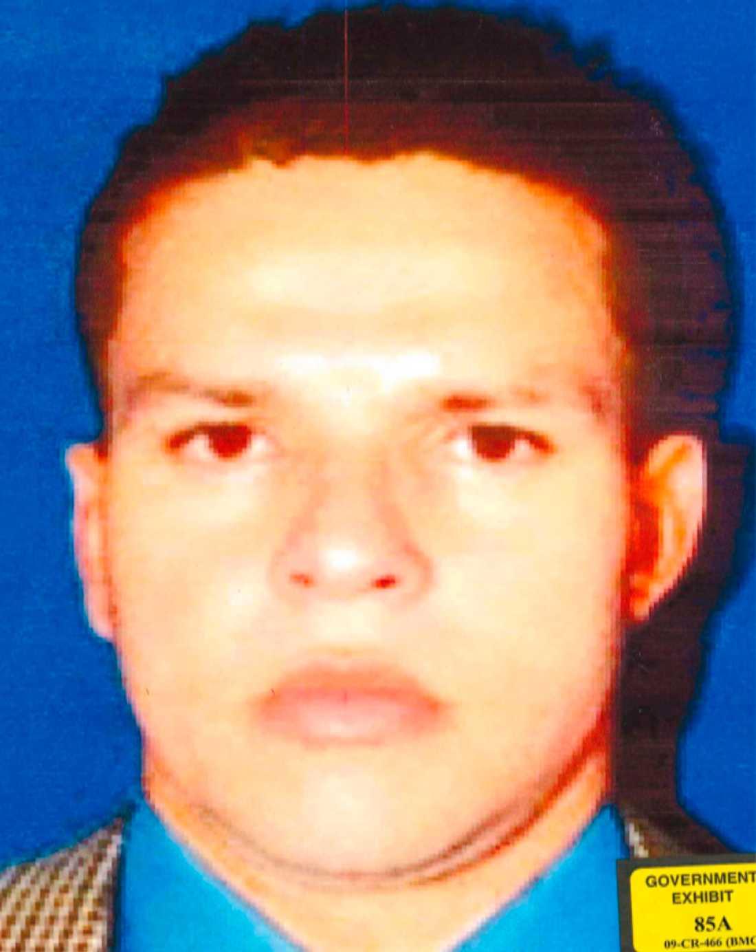 Juan Carlos Ramirez Abadia före operationen ...