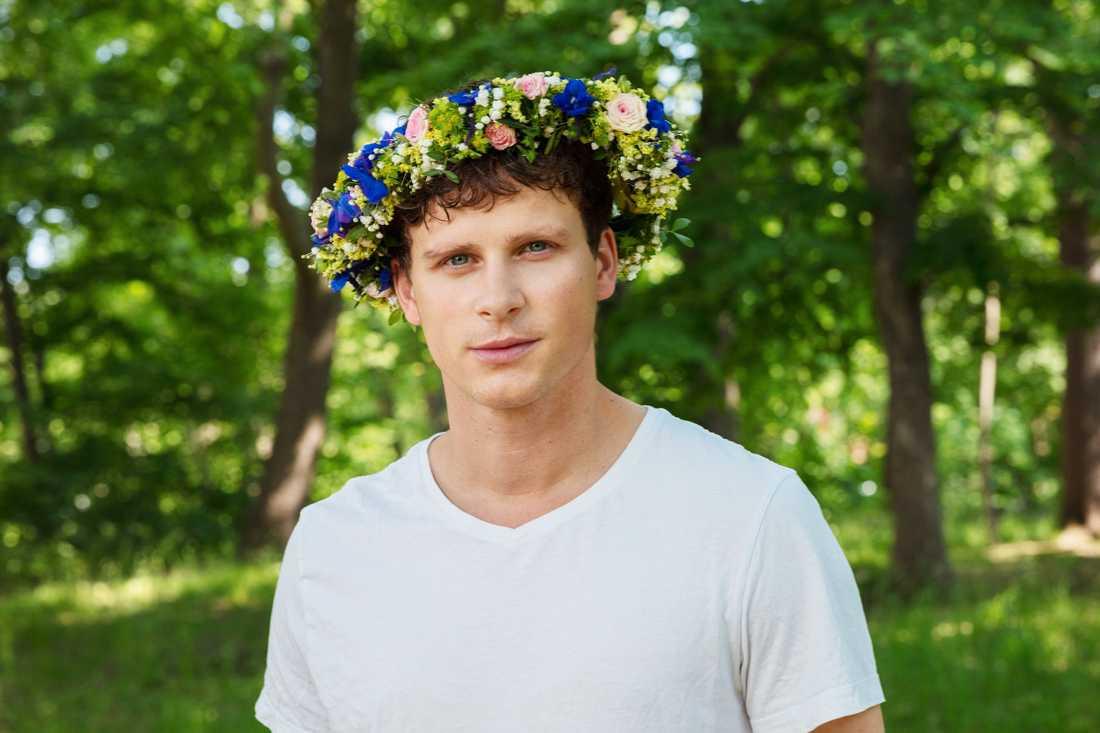 Skådespelaren Adam Pålsson.