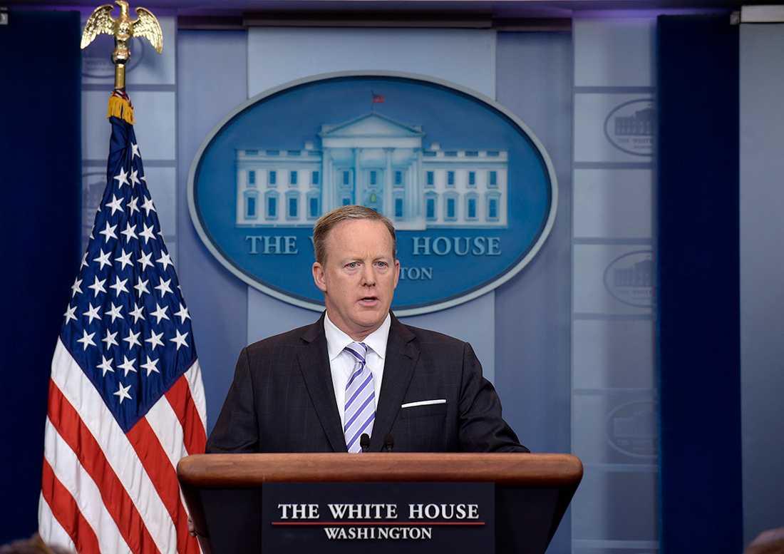 Sean Spicer.